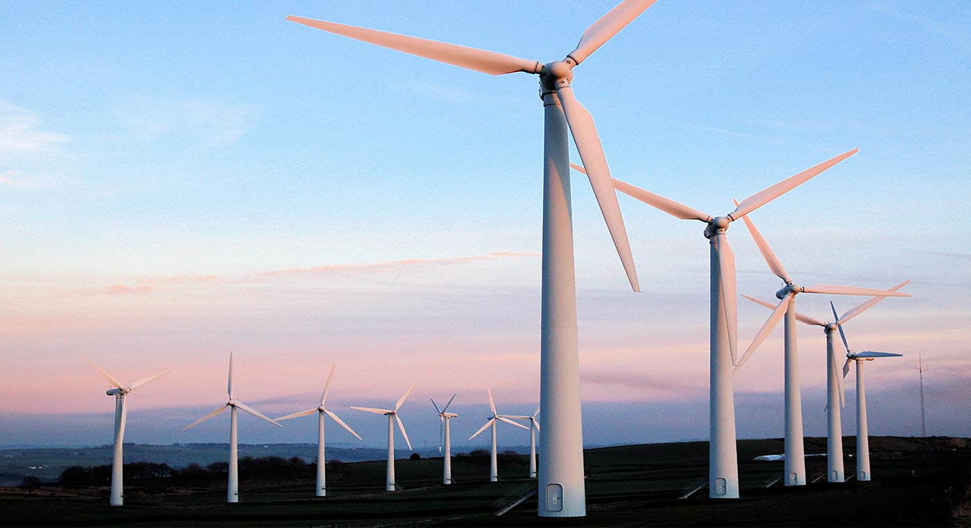 Renewable Energy wind turbines